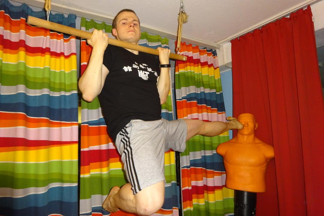 Kampfkunst-Krafttraining im Home-Gym