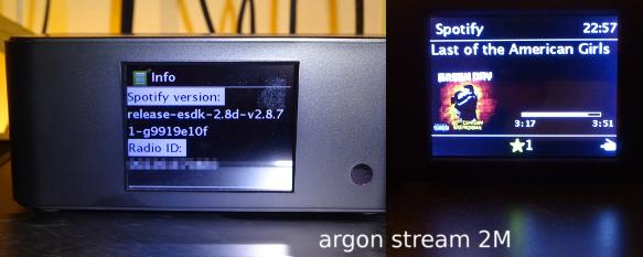 argon stream 2M im Einsatz