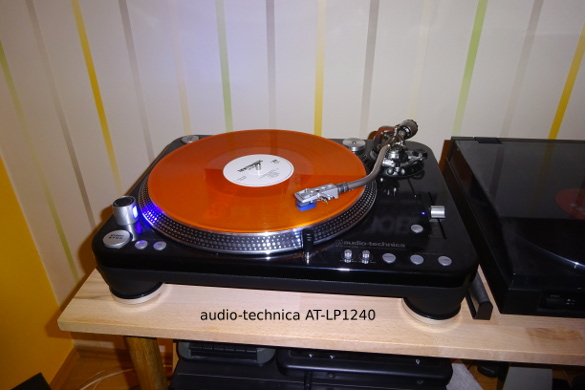 audio-technica AT-LP1240 in Aktion