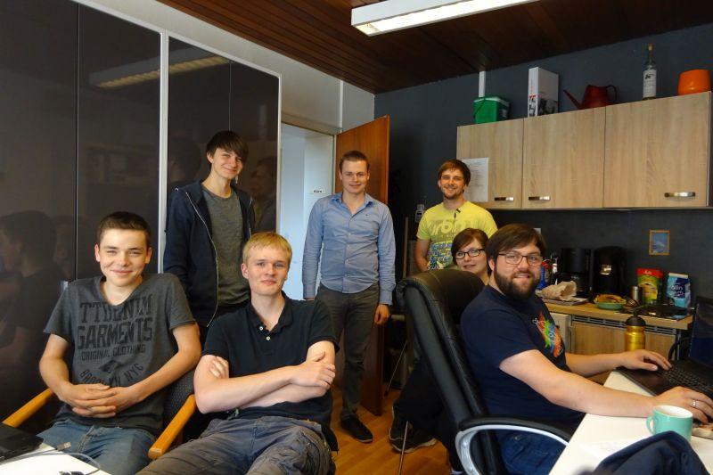 Das rkCSD-Team (2017)
