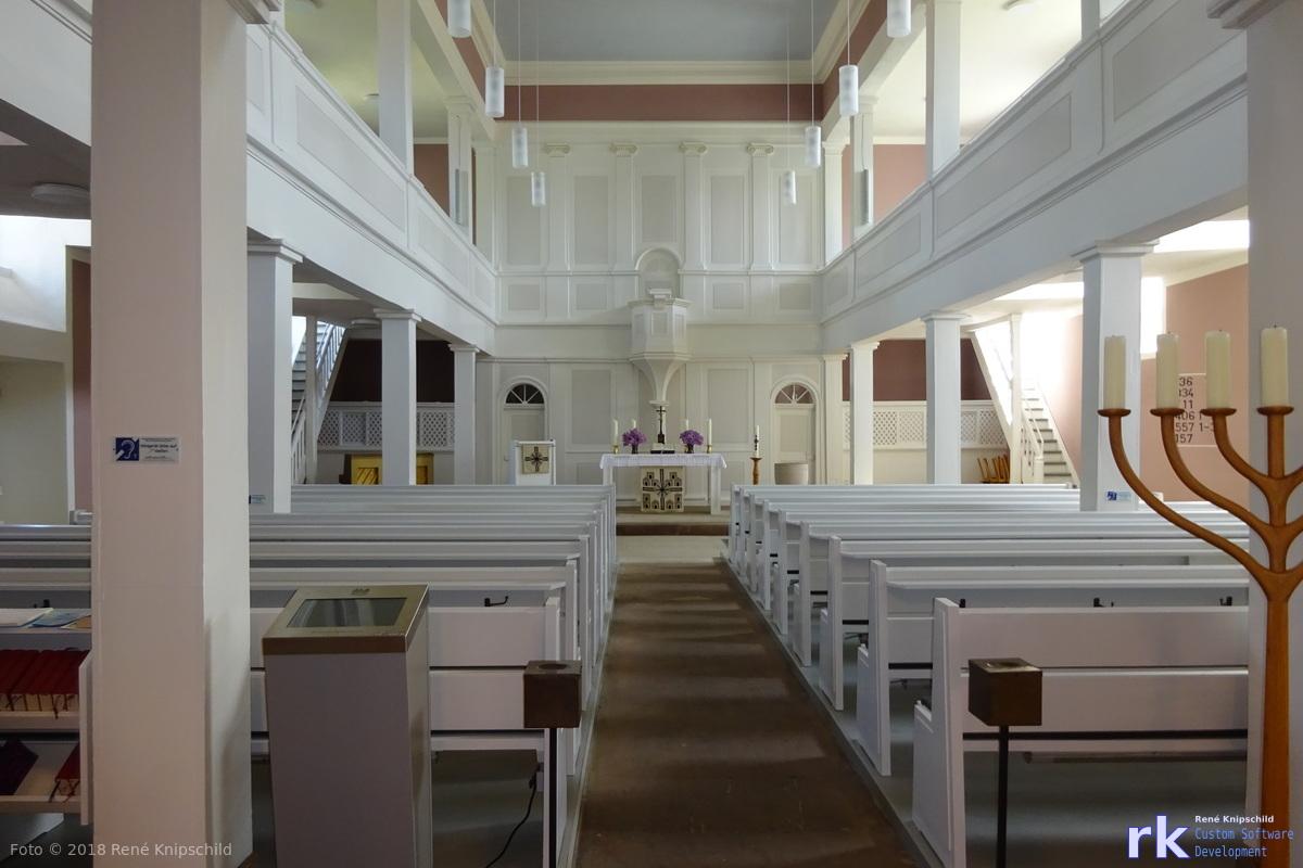 Kirche in Vöhl von innen