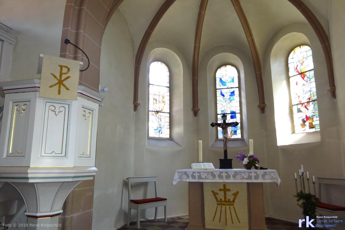 Kirchen in Basdorf von Innen